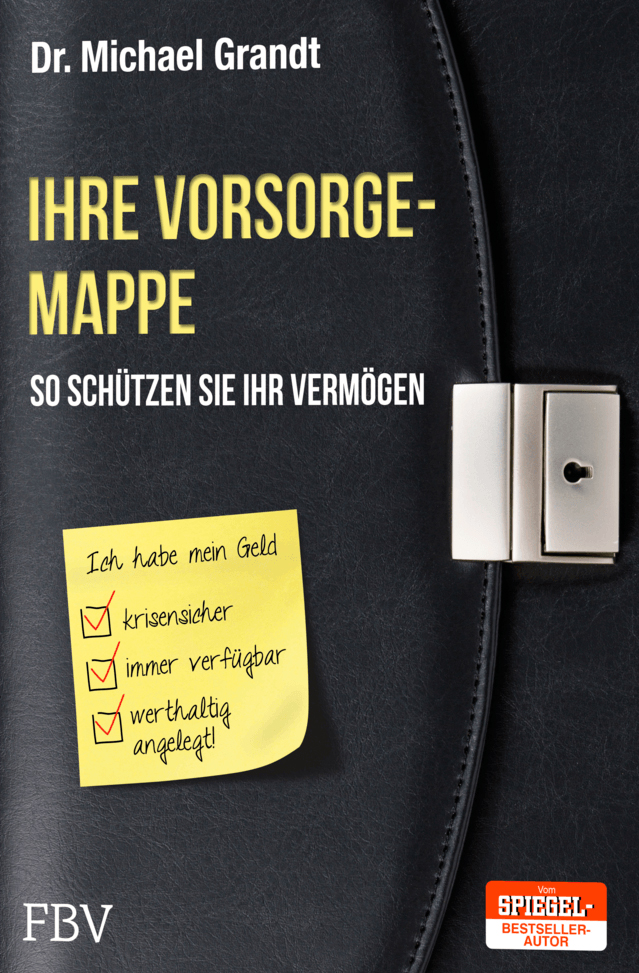 Ihre Vorsorge-Mappe ISBN 978-3898799607