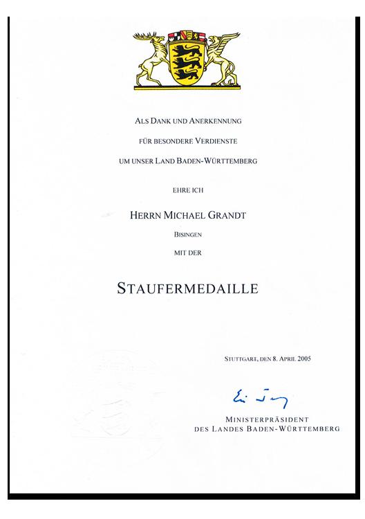 Staufen-Medaille
