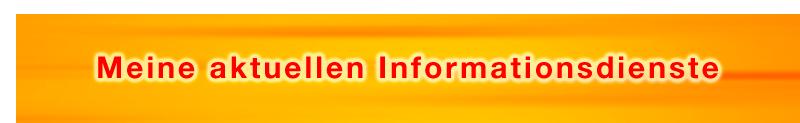 Meine aktuellen Informationsdienste