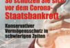 So schützen Sie sich vor dem Corona-Staatsbankrott
